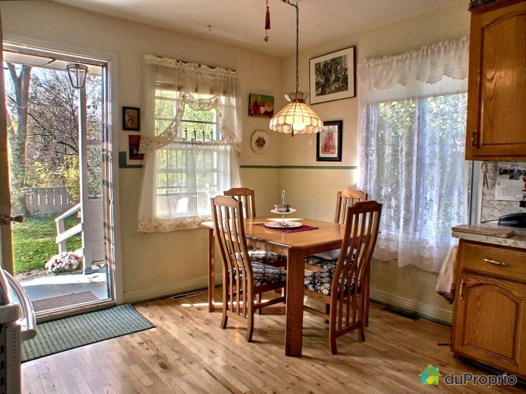 Maison vendu montr al immobilier qu bec duproprio 370737 for Salle a manger montreal