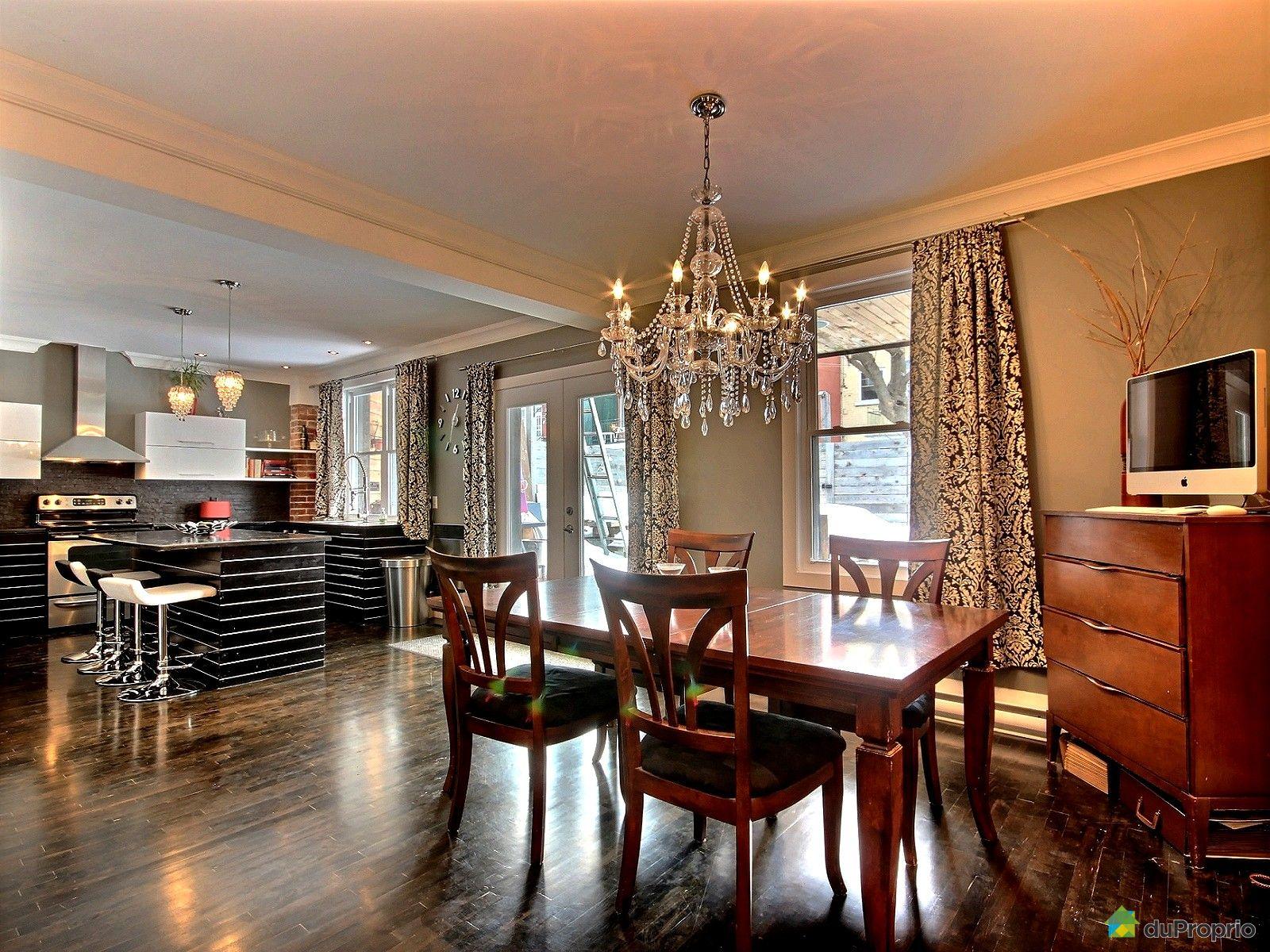 Maison vendu montr al immobilier qu bec duproprio 494061 for La salle a manger montreal