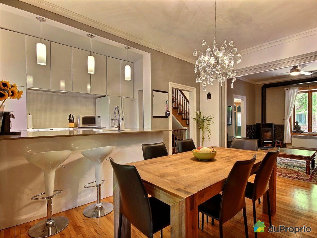 Maison vendu montr al immobilier qu bec duproprio 537592 - Salle a manger a vendre ...