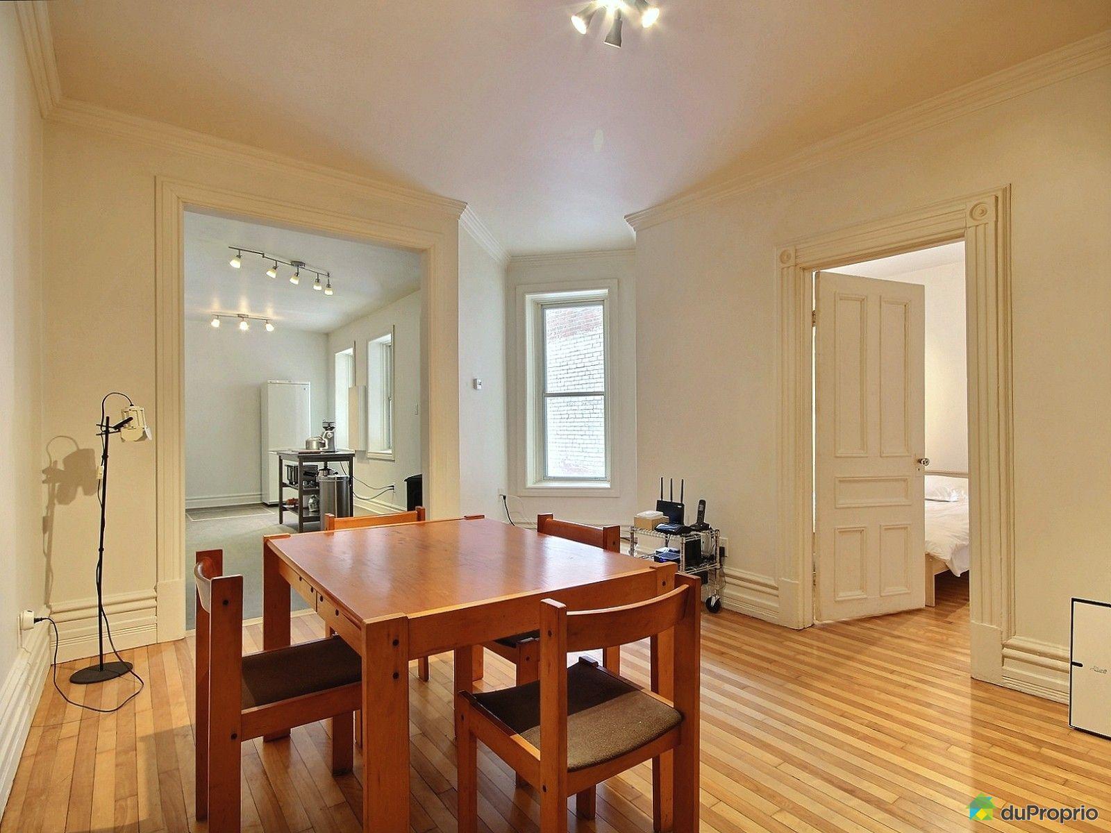 Triplex vendu montr al immobilier qu bec duproprio 597657 for Salle a manger montreal
