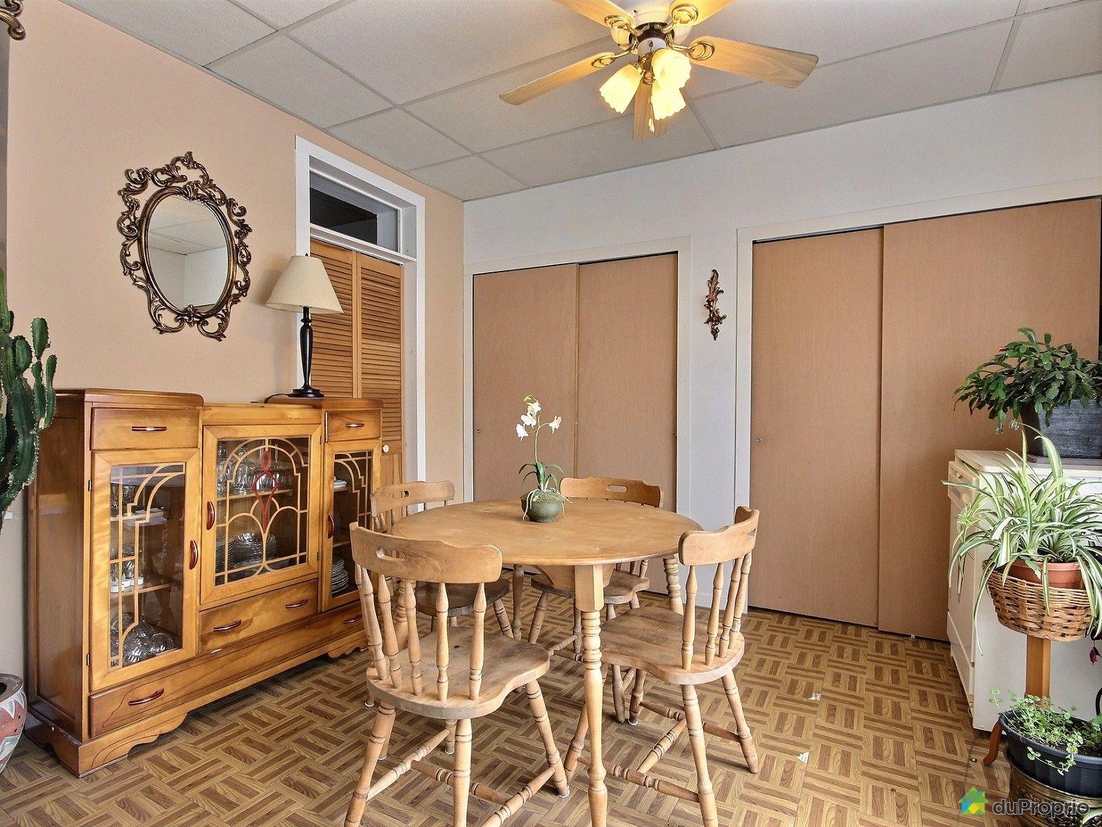 Duplex vendre montr al 6032 34 rue d 39 aragon immobilier for Salle a manger montreal