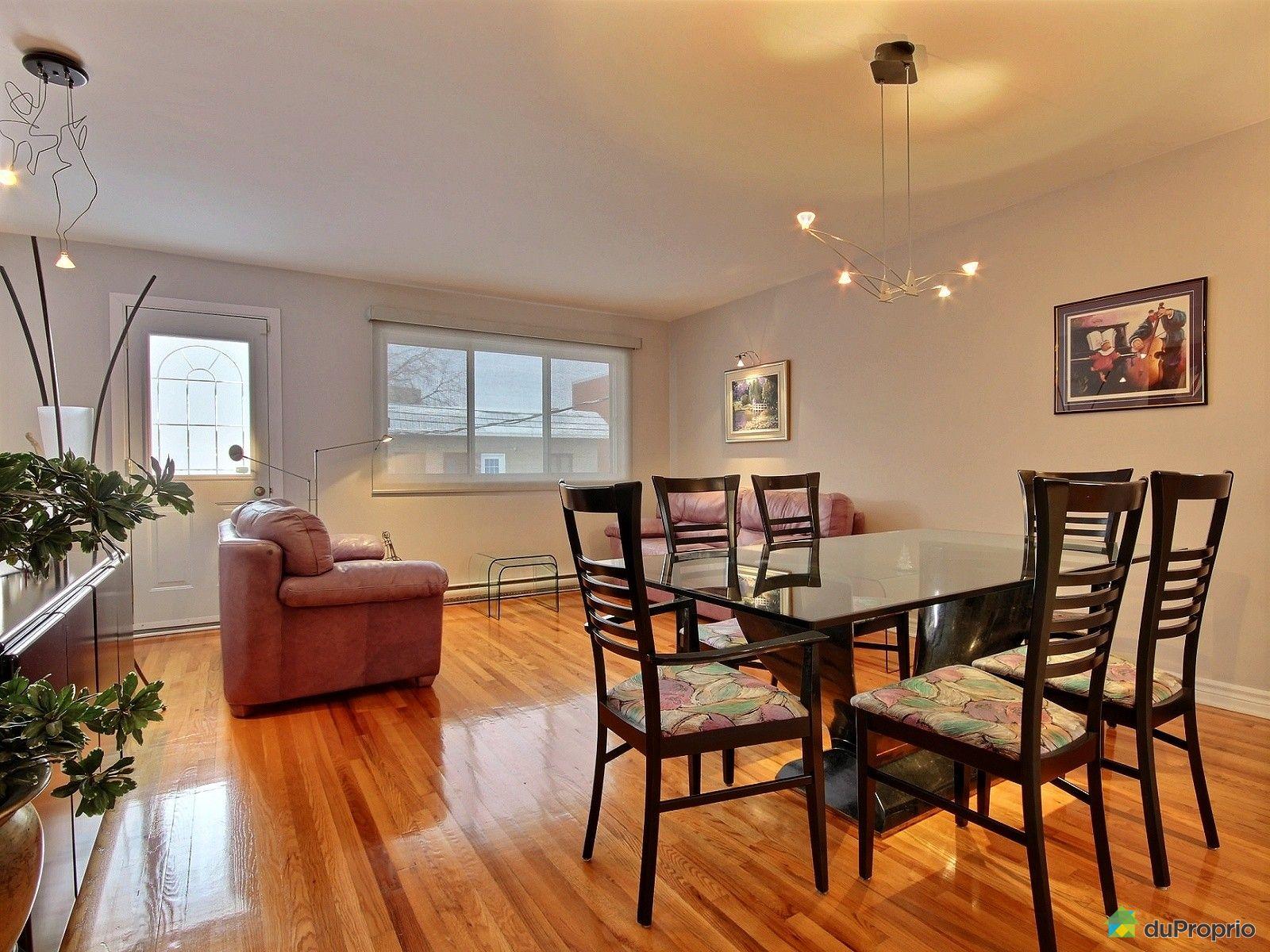 Duplex vendu montr al immobilier qu bec duproprio 569859 for Salle a manger montreal