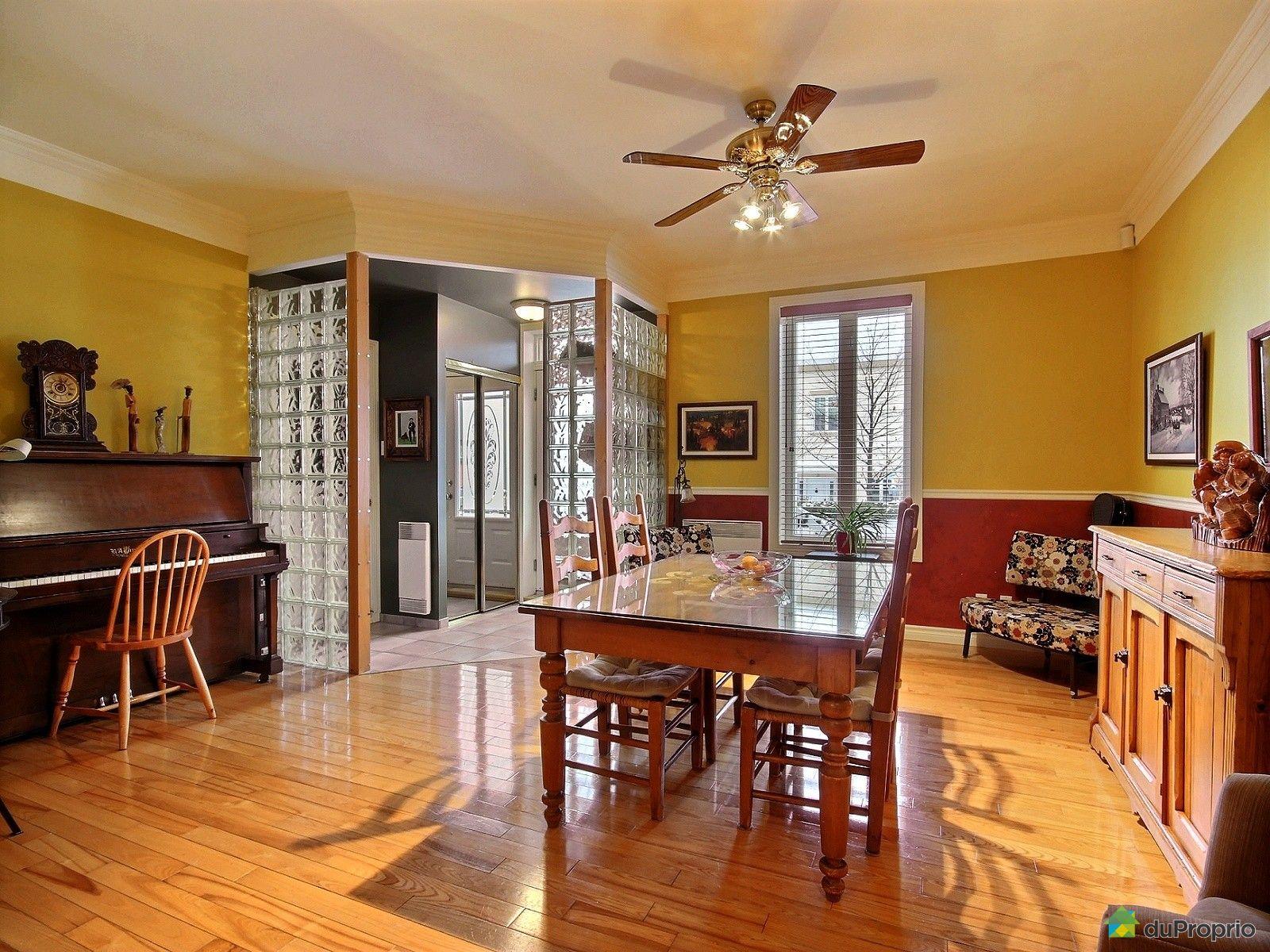 Duplex vendu l vis immobilier qu bec duproprio 551668 for Salle a manger levi