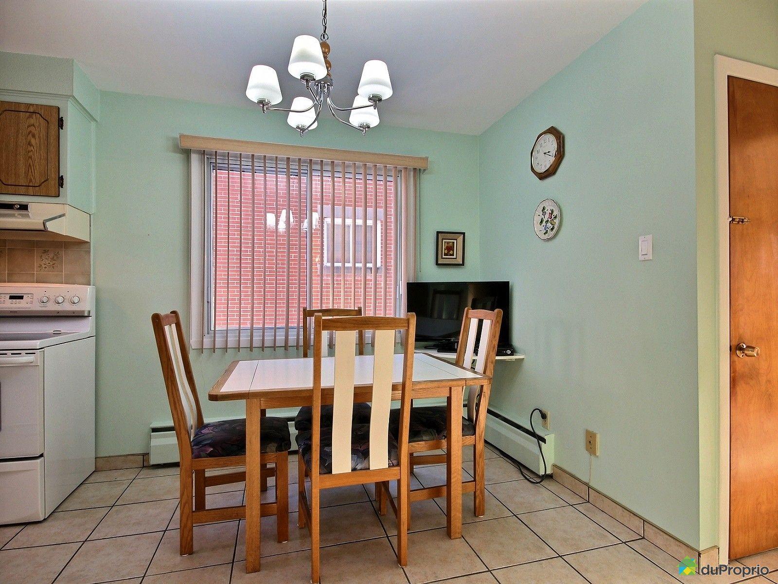 Duplex vendu montr al immobilier qu bec duproprio 680095 for Salle a manger montreal