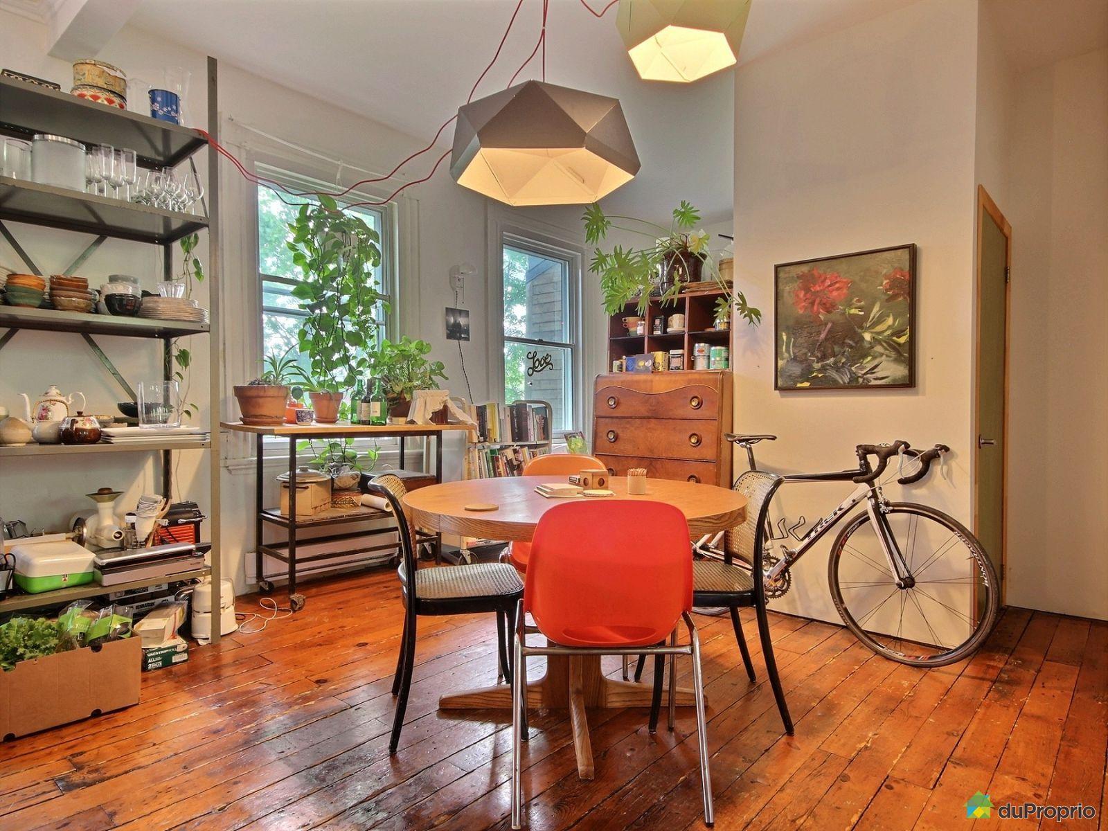 Duplex vendu montr al immobilier qu bec duproprio 705386 for Salle a manger montreal