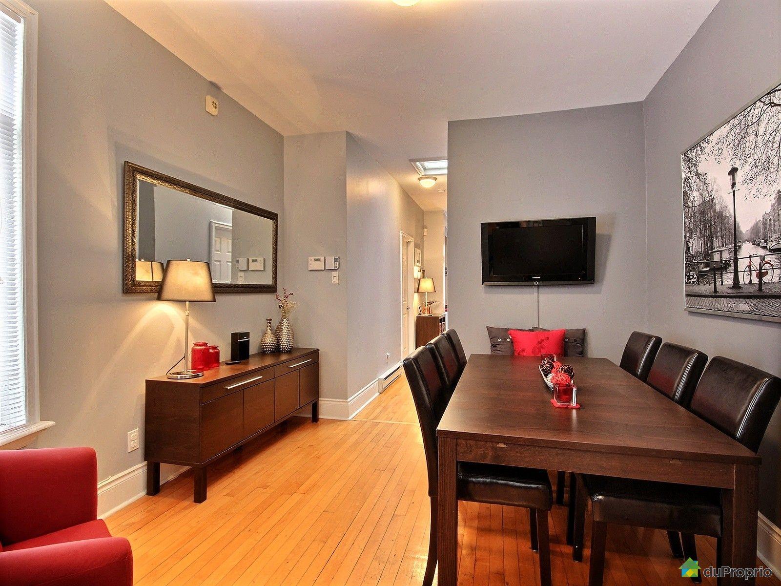 Duplex Vendre Montr Al 5217 5219 Rue Cartier