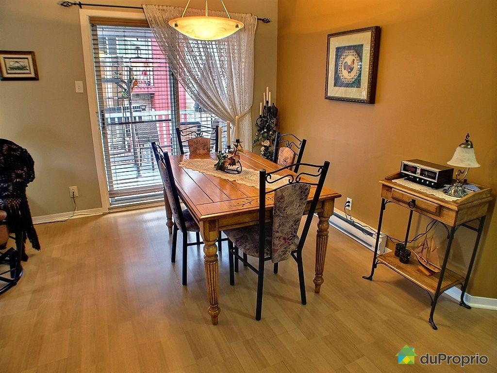 Duplex vendu val b lair immobilier qu bec duproprio for Salle a manger a vendre