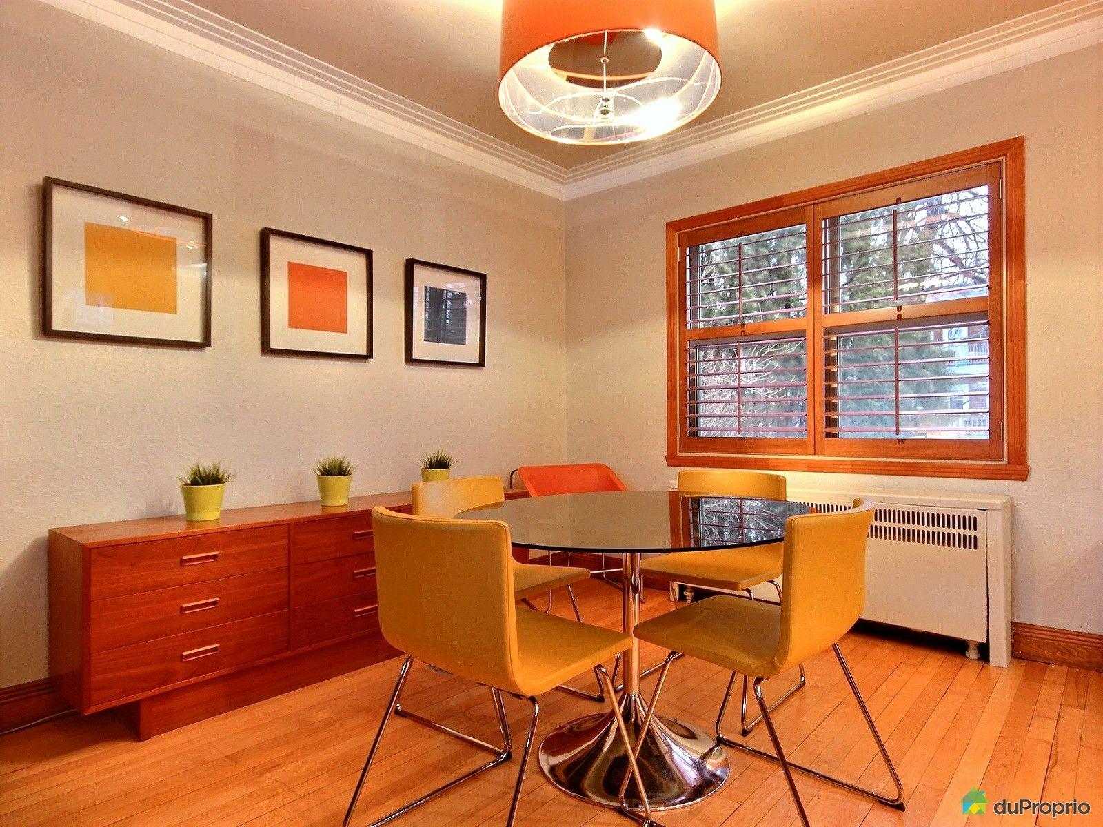 Jumel vendre montr al 5935 rue viau immobilier qu bec for La salle a manger montreal