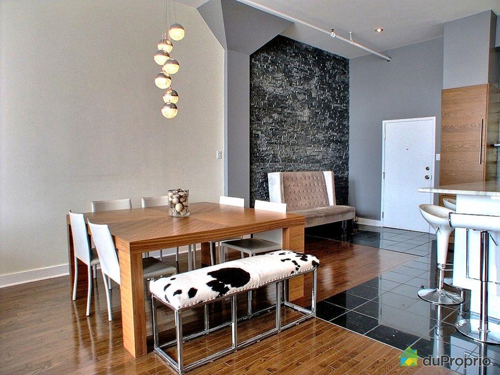 Loft vendu montr al immobilier qu bec duproprio 344128 for Salle a manger loft