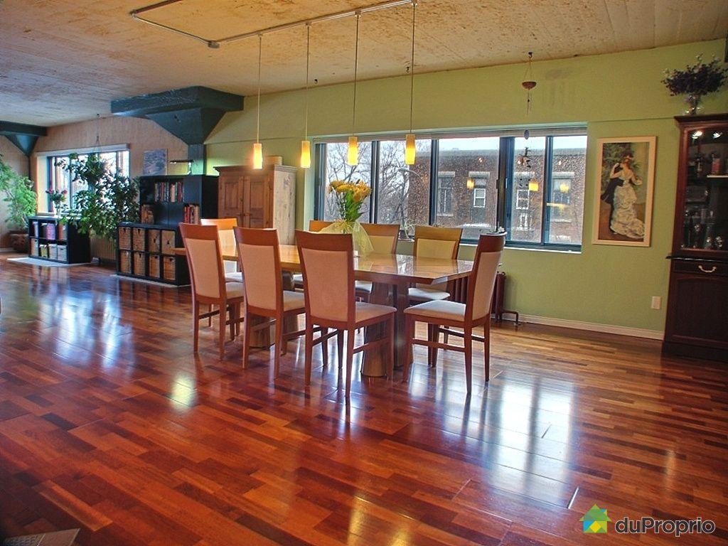 Loft vendu montr al immobilier qu bec duproprio 237752 for Salle a manger loft