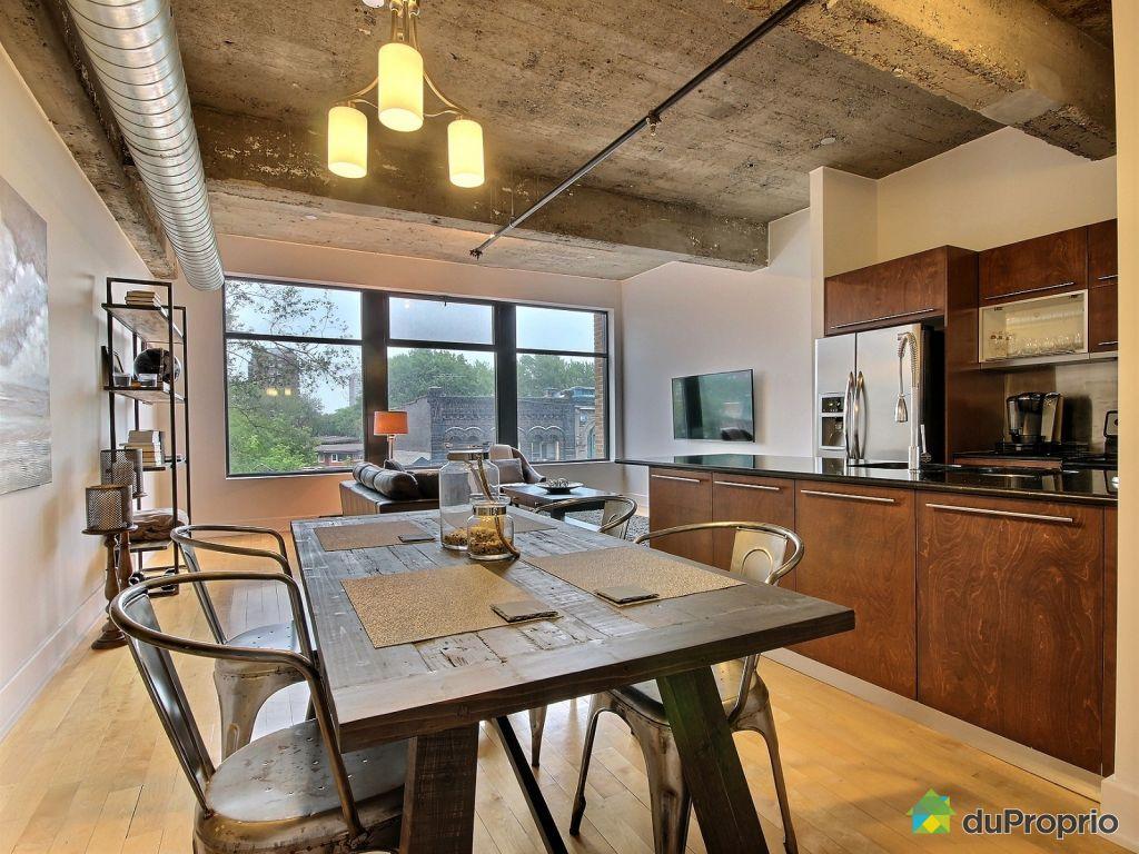 Loft vendre montr al 307 1625 rue clark immobilier for Appartement avec piscine montreal