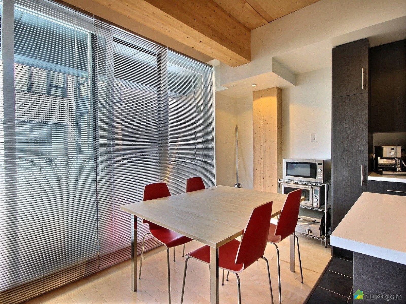 Loft vendre saint roch 309 520 rue de la salle for Salle a manger loft