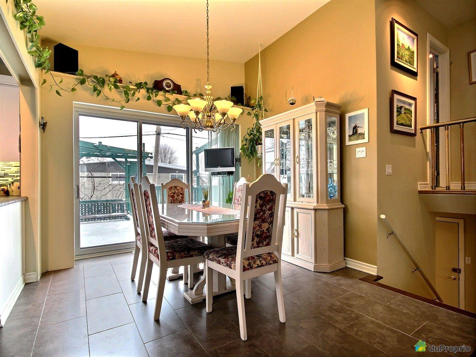 Maison vendre duvernay 1050 rue rideau immobilier for Rideau salle a manger
