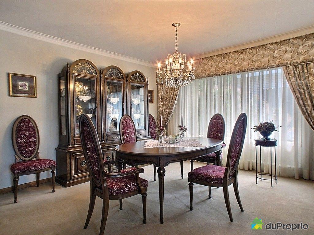 Maison vendu montr al immobilier qu bec duproprio 536456 for La salle a manger montreal