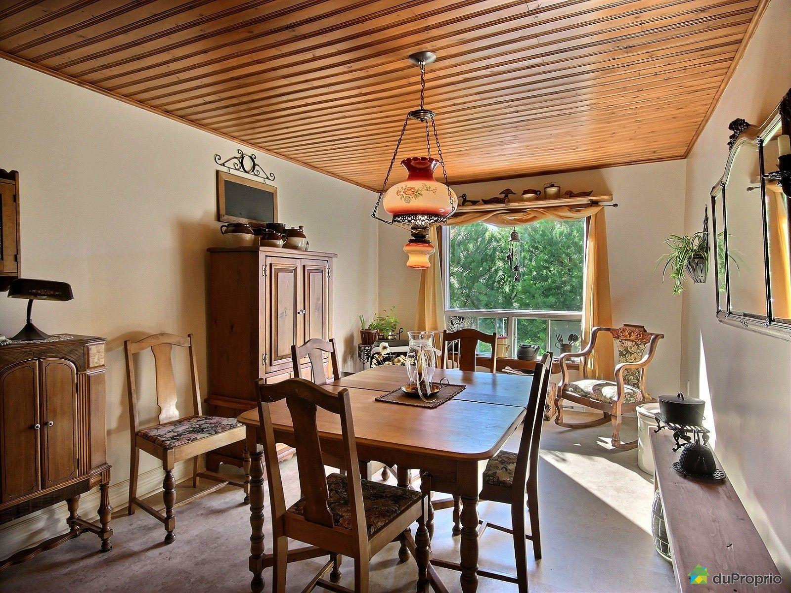 Maison vendu l vis immobilier qu bec duproprio 624422 for Salle a manger levi