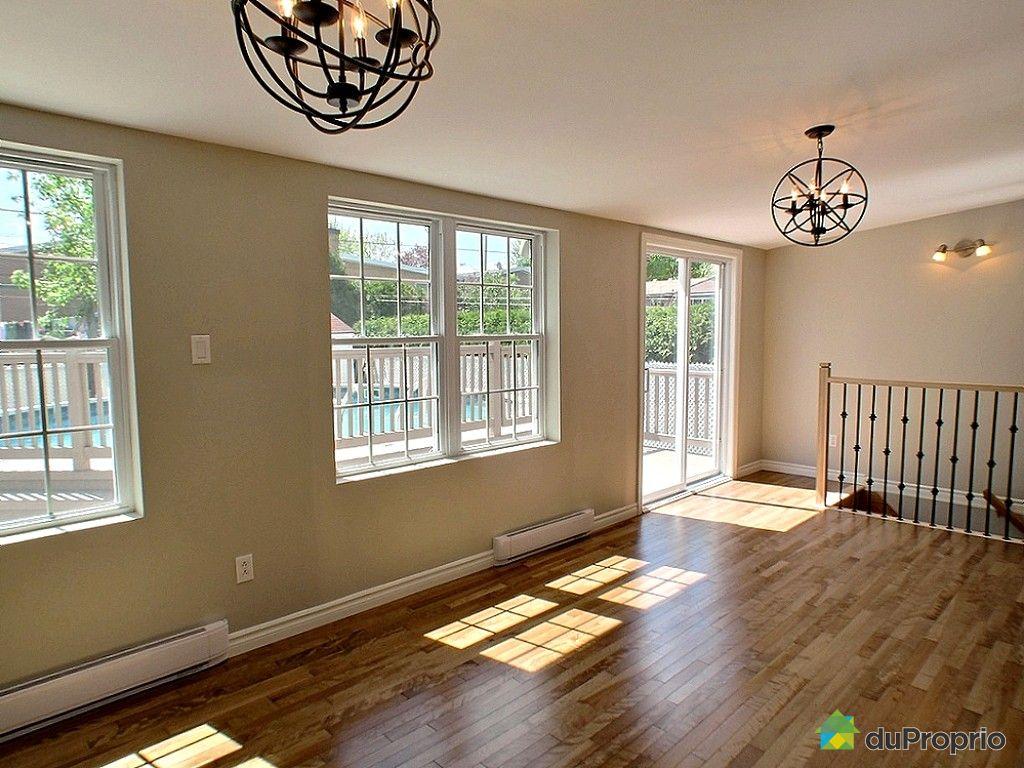 Maison vendu duvernay immobilier qu bec duproprio 598422 for Salle a manger quartz