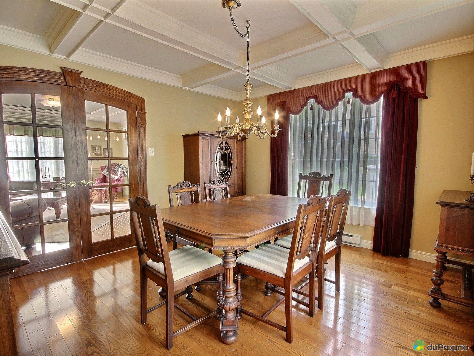 Maison vendre l vis 6985 rue ludger ruelland for Salle a manger levi