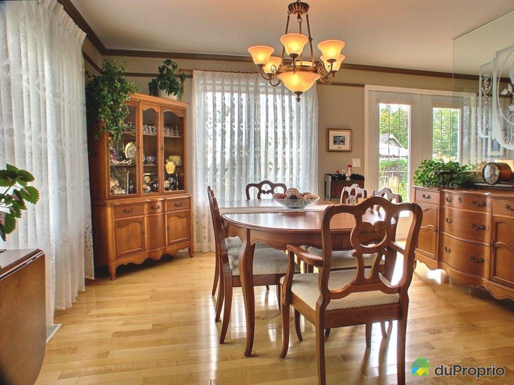 Maison vendu l vis immobilier qu bec duproprio 272052 for Salle a manger levi