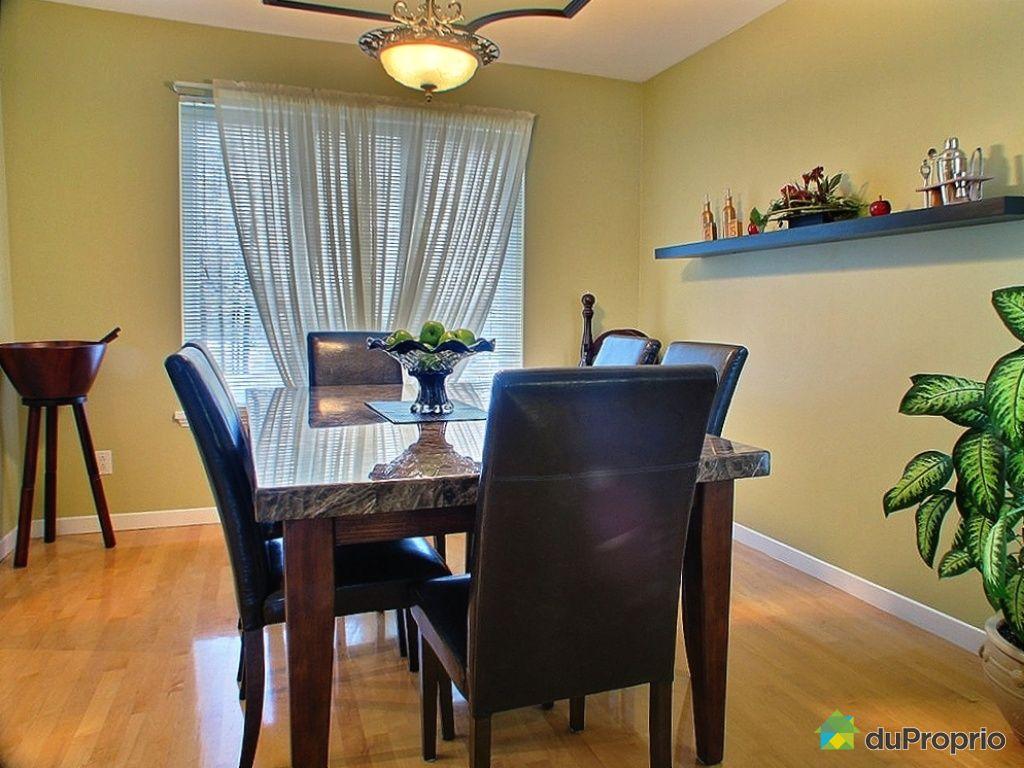 Maison vendu l vis immobilier qu bec duproprio 295057 for Salle a manger levi