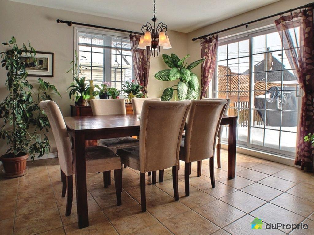 Maison vendu l vis immobilier qu bec duproprio 314718 for Salle a manger levi