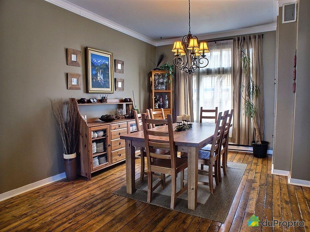 Maison vendu l vis 98 rue fraser immobilier qu bec for Salle a manger levi