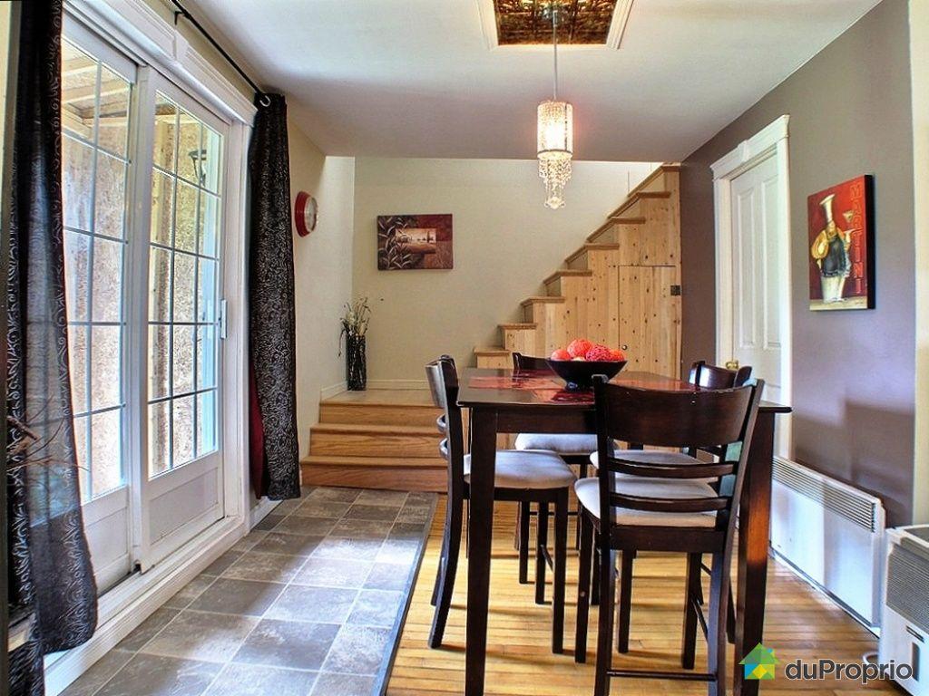 Maison vendu l vis immobilier qu bec duproprio 334679 for Salle a manger levi