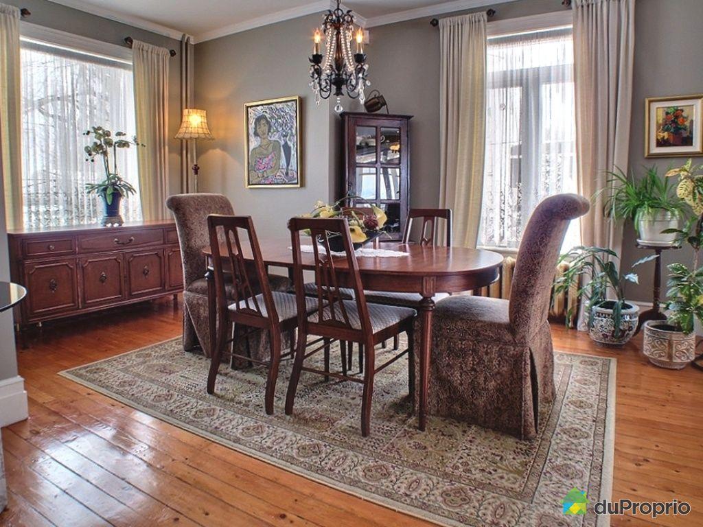 Maison vendu l vis immobilier qu bec duproprio 408746 for Salle a manger levi