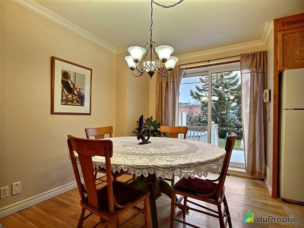 Maison vendu l vis immobilier qu bec duproprio 464873 for Salle a manger levi
