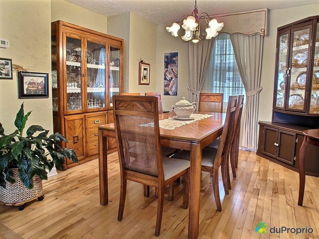 Maison vendu l vis immobilier qu bec duproprio 495044 for Salle a manger levi