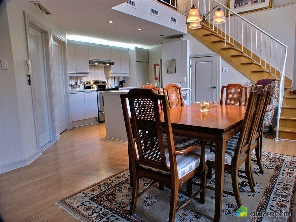 Maison vendu montr al immobilier qu bec duproprio 304389 for Salle a manger montreal