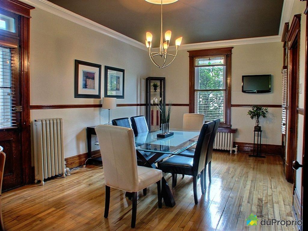 Maison vendu montr al immobilier qu bec duproprio 260042 for Salle a manger montreal