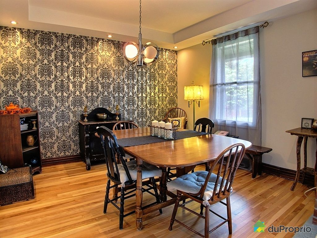 Maison vendu montr al immobilier qu bec duproprio 428262 for Salle a manger montreal
