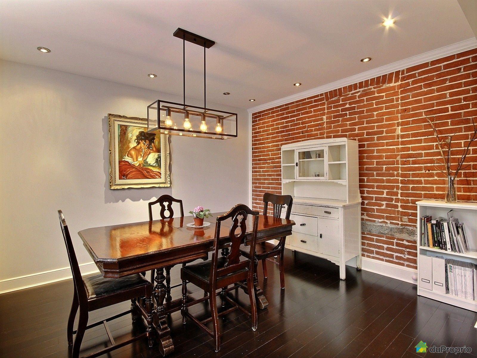 Maison vendu montr al immobilier qu bec duproprio 608406 for Salle a manger montreal