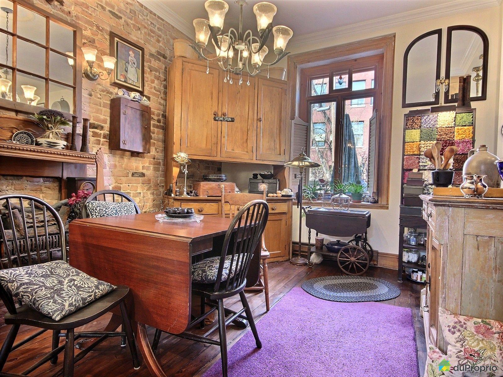 Maison vendre montr al 773 boulevard georges vanier for Salle a manger montreal