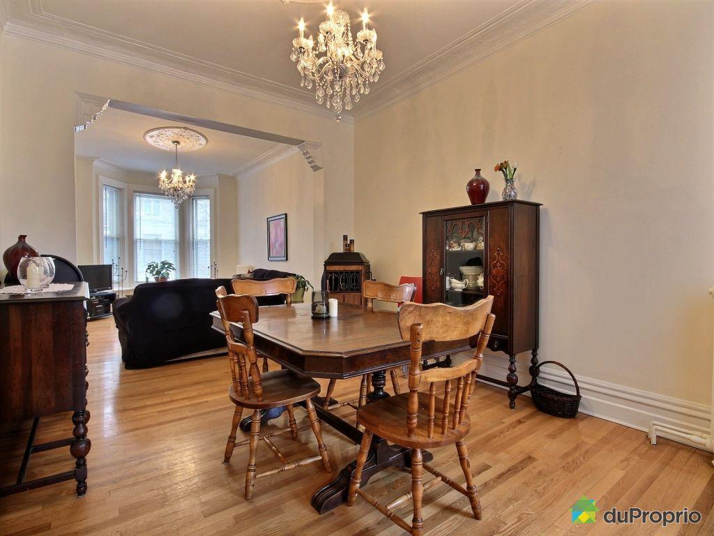 Maison vendu montr al immobilier qu bec duproprio 486762 for Salle a manger montreal