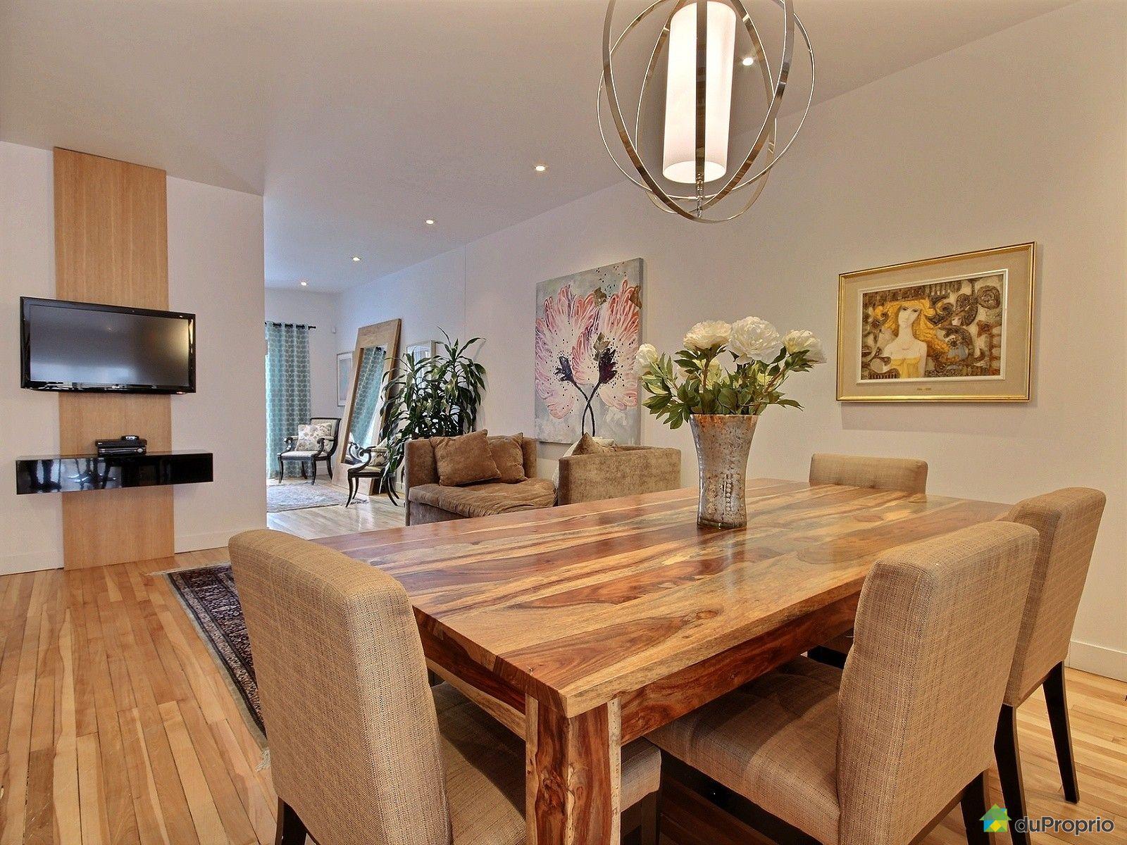 Maison vendu montr al immobilier qu bec duproprio 695586 for Salle a manger a vendre