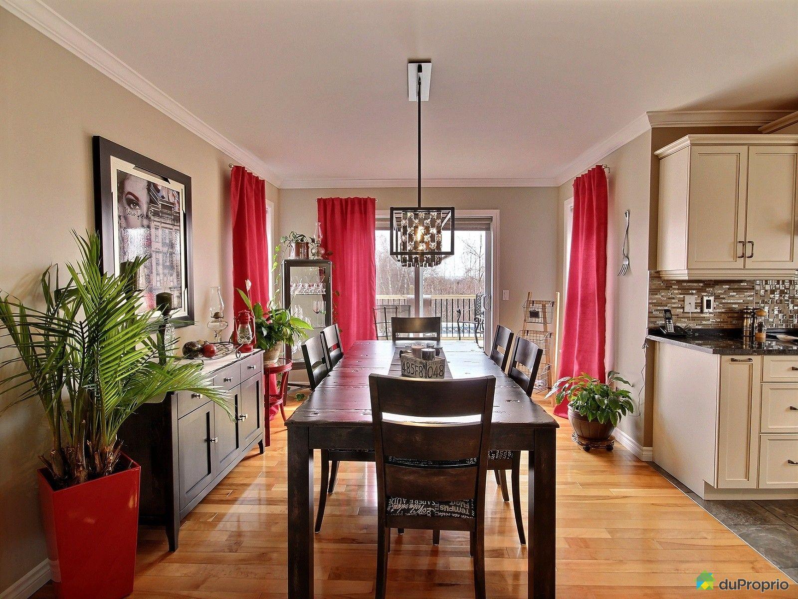 Maison vendre sherbrooke 1016 rue bastien immobilier for Salle a manger bastien