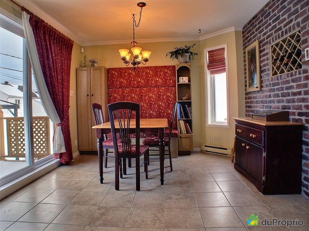 Maison vendu st jean chrysostome immobilier qu bec duproprio 394324 for Salle a manger jean