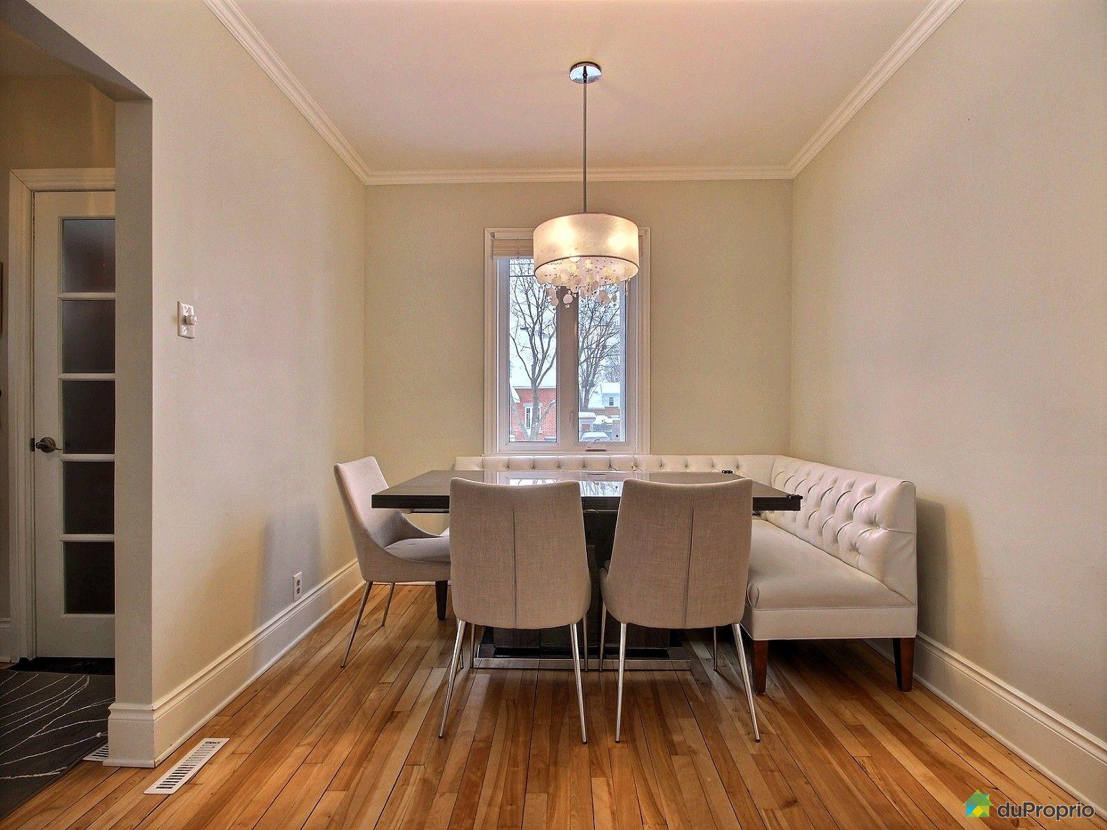 Maison vendu montr al immobilier qu bec duproprio 583007 for Salle a manger montreal