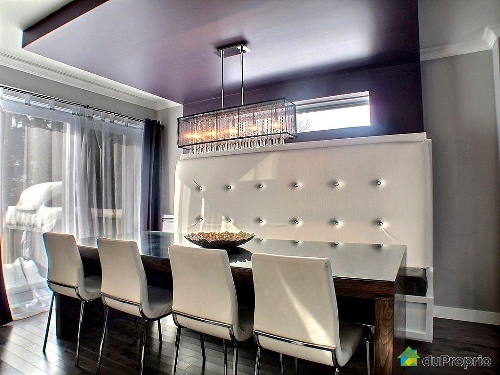 Maison vendu ste rose immobilier qu bec duproprio 487789 for Salle a manger avec banquette
