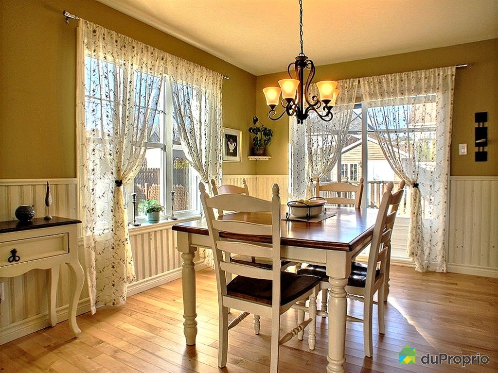 Maison vendu val b lair immobilier qu bec duproprio for Mobilier salle a manger champetre