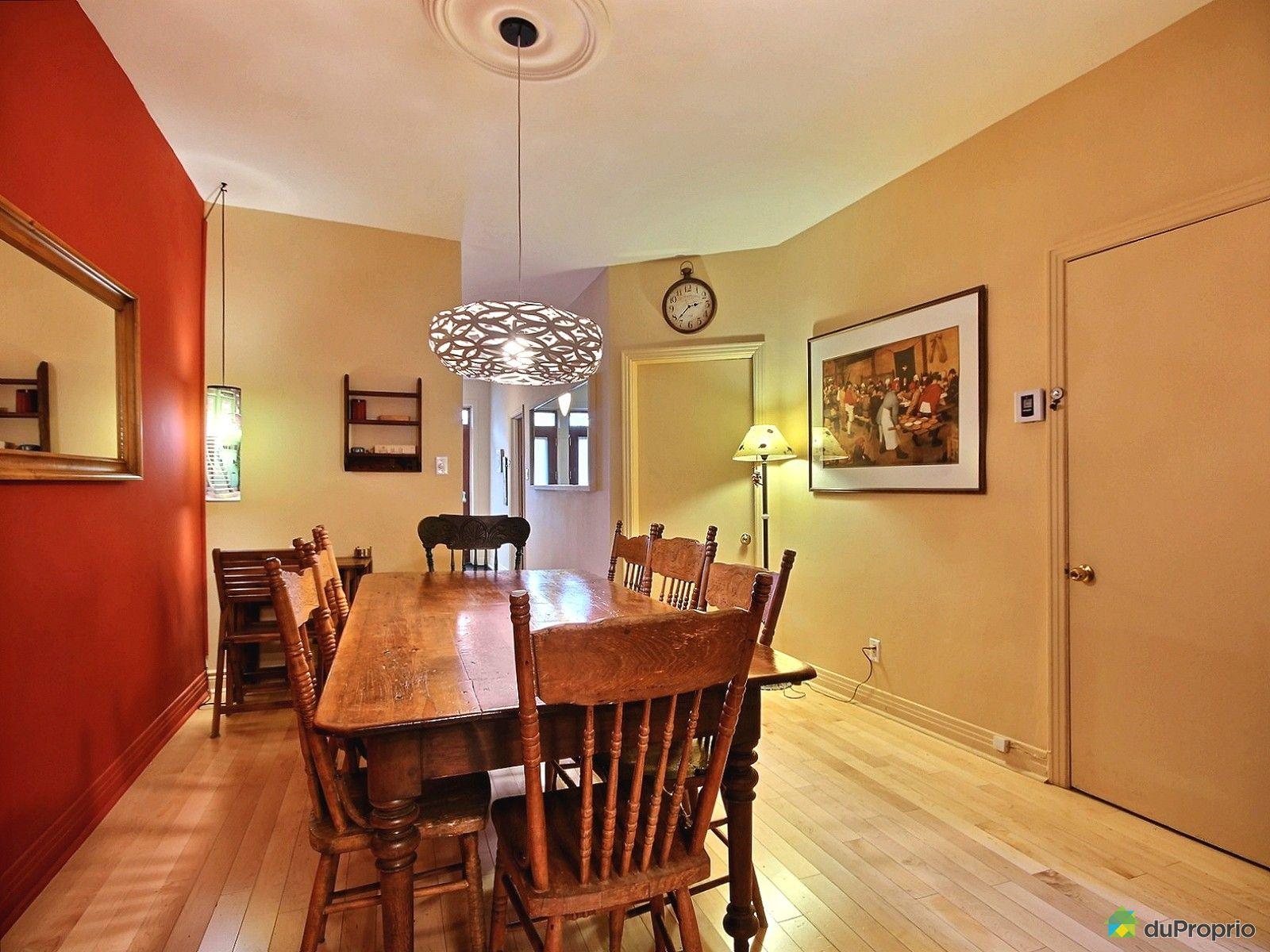 Maison vendu montr al immobilier qu bec duproprio 546177 for Salle a manger antique quebec