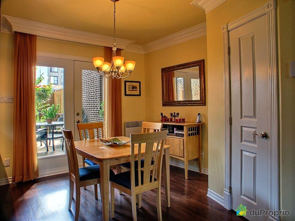 Maison vendu montr al immobilier qu bec duproprio 274734 for La salle a manger montreal