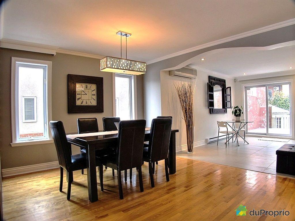 Maison vendu montr al immobilier qu bec duproprio 406622 for La salle a manger montreal