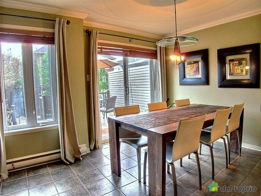 Maison vendu montr al immobilier qu bec duproprio 426649 for La salle a manger montreal