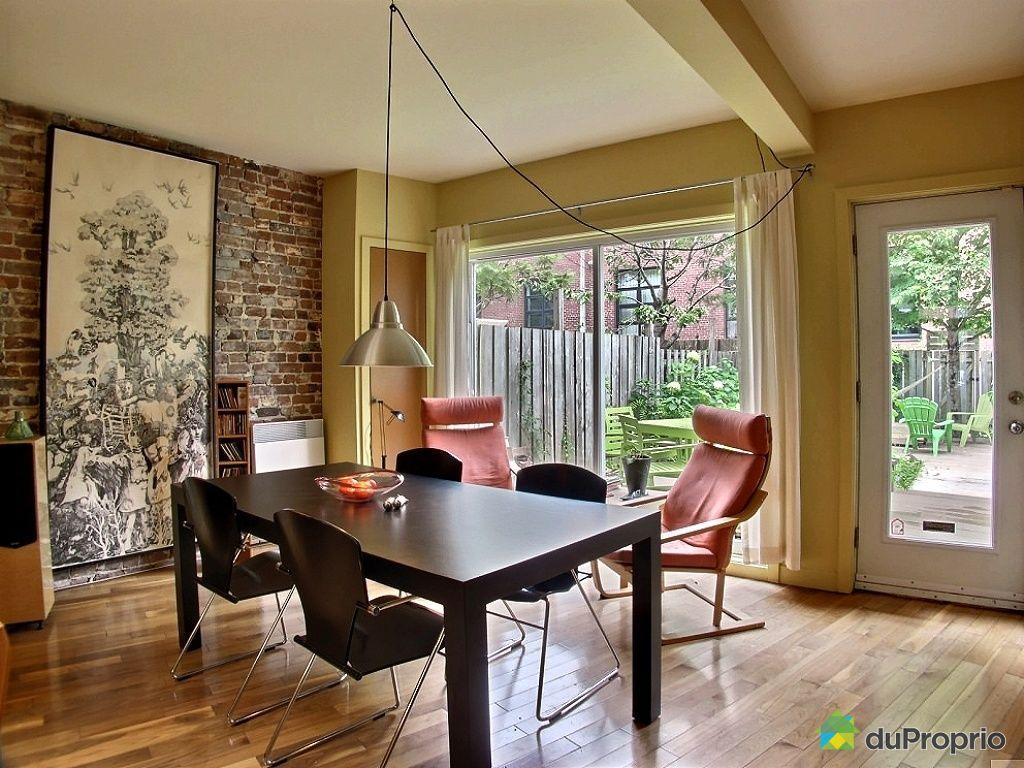 Maison vendu montr al immobilier qu bec duproprio 436295 for Extension maison quebec