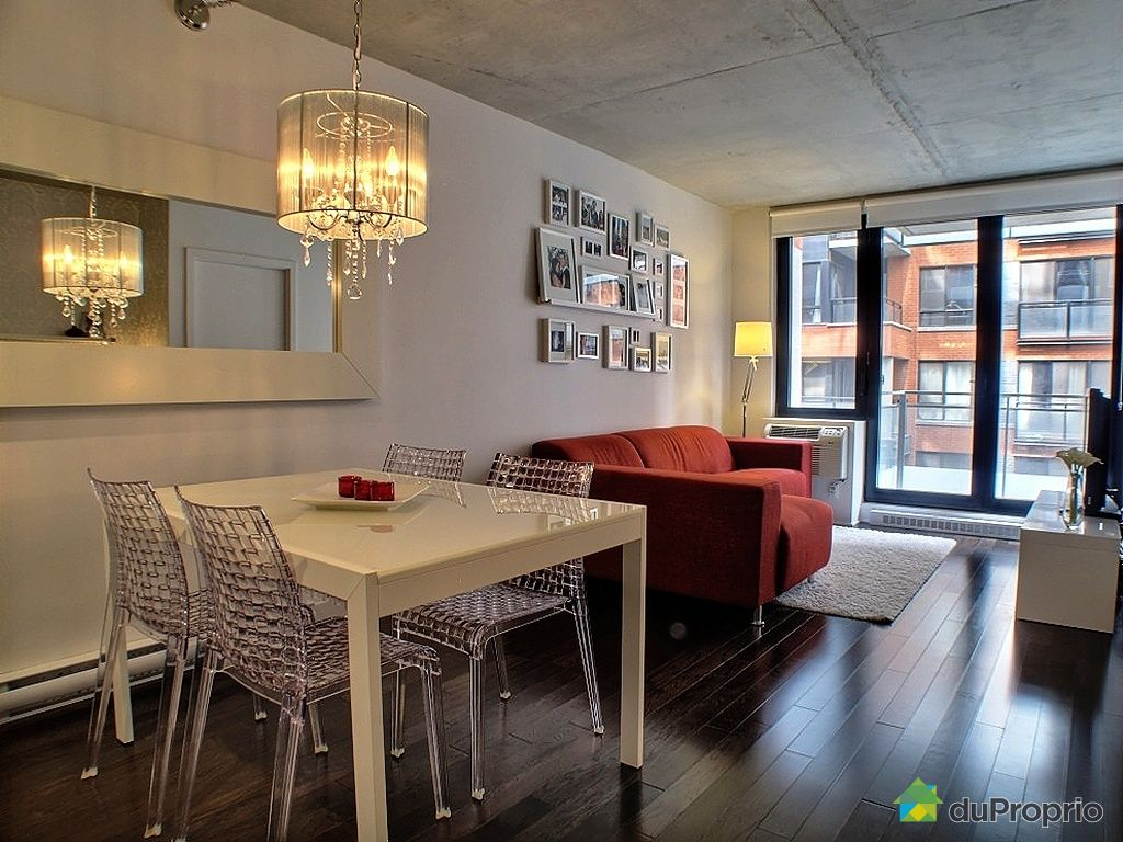 Condo vendu montr al immobilier qu bec duproprio 325337 for Salle a manger montreal