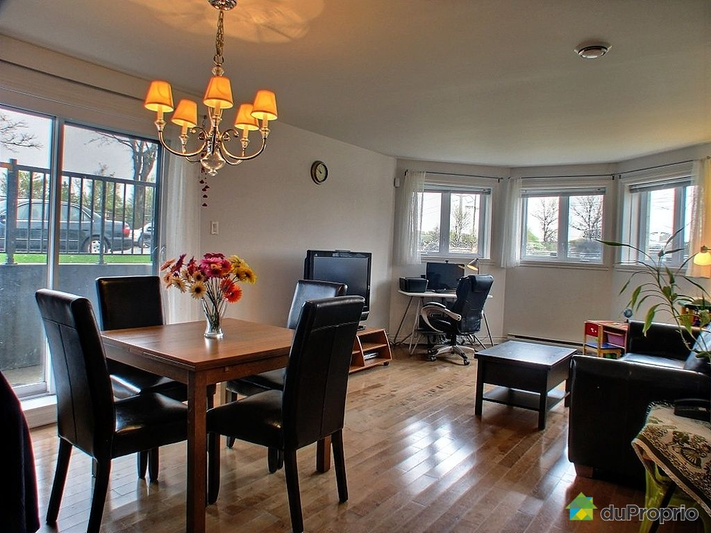 Condo vendu montr al immobilier qu bec duproprio 255174 for Salle a manger a montreal