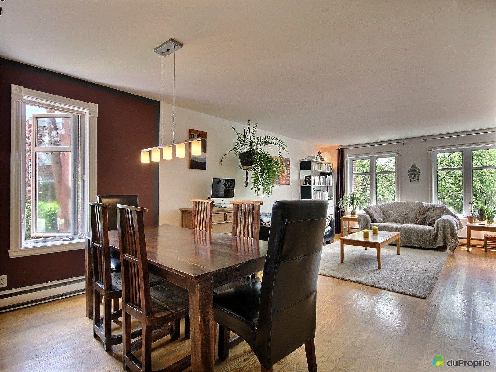 Condo vendu montr al immobilier qu bec duproprio 529550 for La salle a manger montreal