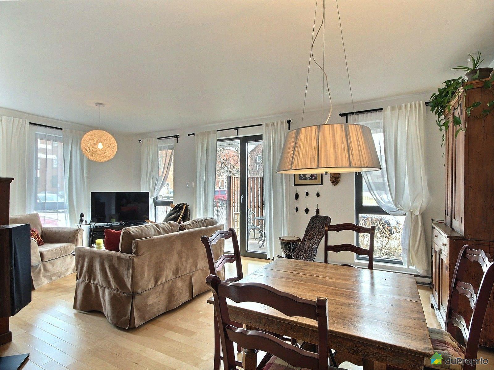 Condo vendu montr al immobilier qu bec duproprio 594492 for La salle a manger montreal